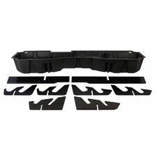 DU-HA INC 10300 Black Underseat Storage Box Tray For Silverado/Sierra Crew Cab