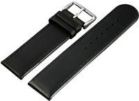 Echtleder Ersatzarmband Uhrenband Schwarz 22 mm Ersatzband X-815610102022