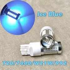 Reverse Backup Light T20 7440 992 W21W 33 samsung SMD LED Ice Blue Bulb W1 JAE