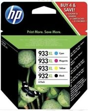 HP 933/932 4 Cartouches d'Encre Noire/Cyan/Magenta/Jaune neuf