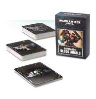 Warhammer 40k Blood Angels Datacards NIB