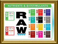 RAW NPK Nutrients Water Soluble 2oz, 8oz also Microbes , Enzymes Hydroponics