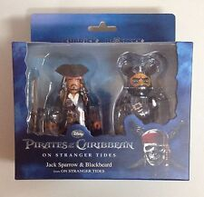 Bearbrick Pirates of Caribbean 100% Kubrick Stranger Jack + be@rbrick 2p boxset