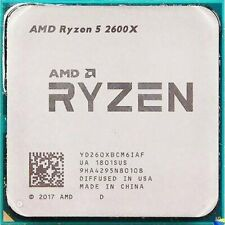 AMD Ryzen 5 2600X R5-2600X 3.6GHz 6Core 12Thr 95W Socket AM4 CPU Processors