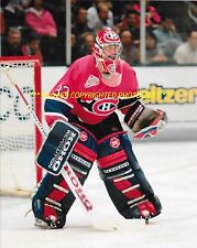 PATRICK ROY Defends His NET 8x10 Photo MONTREAL CANADIENS HOF GOALIE GREAT WoW