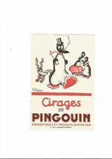 """Alain Saint Ogan- Buvard publicitaire pour"""" les Cirages du Pingouin"""""""