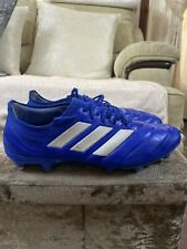 Adidas Copa 20.1 SG Blue Football Boots Size 9uk Men's Pro Edition Fast Post