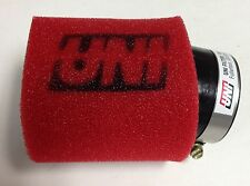 """UNI UNIVERSAL ANGLED 2 STAGE POD AIR FILTER FITS 1-3/4"""" FREE SHIPPING!"""
