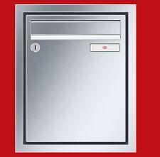 Renz Unterputz-Briefkasten Wand 1-teilig 260 x 330 x 100 Rahmen Edelstahl UPH168