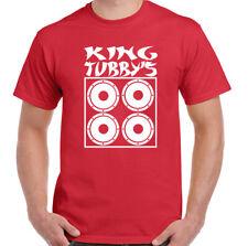 Tubby's Tribute T-Shirt King Tubby Mens Top Ska Dub Reggae Music Bob Marley