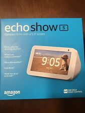 Amazon Echo Show 5 Compact smart display Alexa Sandstone White NEW