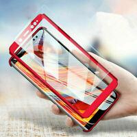 New Shockproof Case Tempered Glass Cover For Samsung J3 J5 J7 Pro J8 J4 J6+ Plus