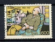 ITALIA 1983 SG # 1786 Umberto Saba, poeta usato #A 40480