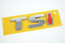 5G0853675A I TSI Schriftzug Emblem  Logo selbstklebend VW Audi Seat Skoda rot/si