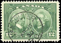 1927 Used Canada VF Scott #147 12c Historical Issue Stamp