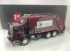 "First Gear 1/34 Scale MACK GARBAGE TRUCK ""WASTE MANAGEMENT VERSION"" Limited"