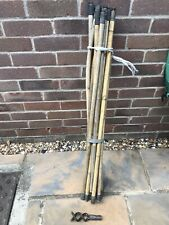 Antique Chimney Sweep Rods(Or For Drains) 15 rods + attach. Prefer local pick up