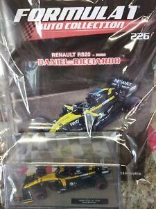 RENAULT RS20 2020 DANIEL RICCIARDO  FORMULA 1 AUTO C. 1:43  #226 MIB DIE-CAST