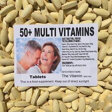 50+MULTI VITAMIN PLUS (360 tablets)   One per day