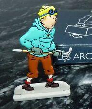 FIGURINE METAL TINTIN  Tintin au Tibet