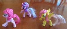 """My Little Pony Loose Lot of 3 Character Tv movie Toys - 3""""H"""