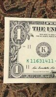 MULTIPLE ERROR - ONE ✯ STAR NOTE $1 Dollar Bill UNCIRCULATED CRISP from BEP PACK