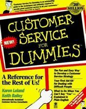 NEW - Customer Service For Dummies? by Leland, Karen; Bailey, Keith