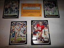 2016 DONRUSS FOOTBALL 1987 CLASSICS/LofF/INDUCED/FofGAME/T-SHERIFF/TOP TARGETS &