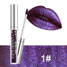 *UK SELLER*7 Colours Diamond Pretty Glitter Shining Long Lasting Lipstick/gloss
