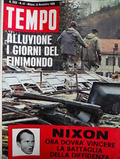 TEMPO n°47 1968 Ramon Novarro - Alluvione di Valle Mosso Piemonte[C86]