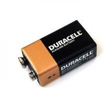 12 X Duracell 9v Pilas.. Baterías batería mn1604 6lr61