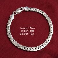 Hot Sonderpreis Großhandel Silber Schmuck Herren / Damen-Armband new