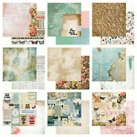 "Kaisercraft Scrap Studio 12x12"" - Double Sided Craft Scrapbooking Paper Rustic"