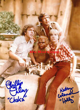 LAND OF THE LOST KATHY COLEMAN HOLLY PHILLIP PALEY CHAKA 8x10 autographed RP