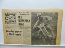 Aug 12 1964 Motorcycle News Newspaper Yamaha Phil Read Honda Norton L11430