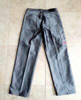 Vintage GUESS Denim Jeans Carpenter Men's 36x34 Workwear Silver Made in the USA