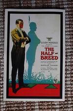 The Half Breed Lobby Card Movie Poster Western Wheeler Oakman