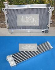 Aluminum Radiator&Oil cooler for Mazda R100 Familia Rotary 1000 1200 1300 68-73
