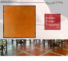 PIASTRELLE RICORDI CRETA PAVIMENTO INTERNO ESTERNO 25X25 CLASSICO COTTO CERAMICA