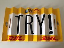 Official Rugby World Cup 2015 Try Sign Banner RARE