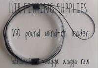 HTR Fishing Supplies 150 pound Wind-On Leader