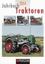 Jahrbuch 2014 Traktoren  Schlepper/Traktor/Zetor/Hanomag/Atlas/Holder/Steyr/Buch