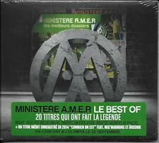 CD MINISTERE A.M.E.R LES MEILLEURS DOSSIERS BEST OF 20T NEUF SCELLE (1 INEDIT)