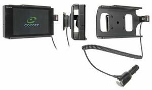 Support voiture Brodit avec chargeur intégré Coyote Nav - Coyote