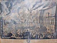 Incendie de Rennes 1720 Bretagne XVIIIe 18e siècle Parlement de Bretagne---