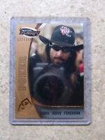 09 Press Pass Poker CHRIS FERGUSON Razor Leaf Bronze /150