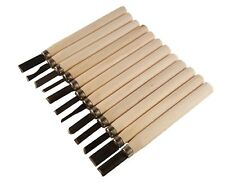 12 pcs wood carving tool set whittling Wood handle chisel Woodworkers Tool