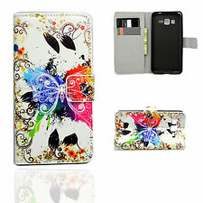 Luxury Leather Card Slot Wallet Cover Case For Samsung Galaxy Mobile Phones New