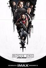 Rogue One A Star Wars Story Movie Poster (24x36) - Felicity Jones, Mikkelsen v3