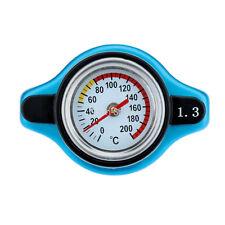 Car Off-Road D1 Spec Thermost Radiator Cap Cover Water Temperature Gauge 1.3 Bar